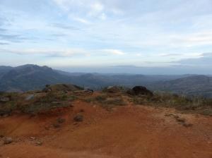Blick von Santa Fe auf die Pazifikküste Panamas