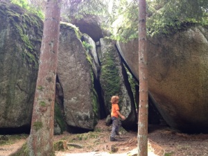 Felsenlabyrinth Luisenburg - Fichtelgebirge mit Kind