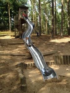 Spielplatz im Wildpark Schorfheide mit Kids