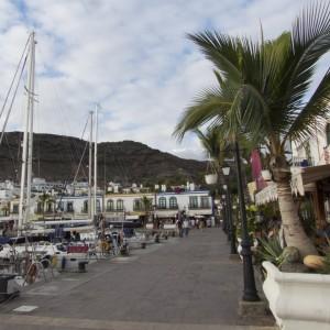 Restaurantmeile von Puerto de Mogan