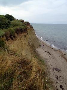 Ostsee mit Kindern - Wandern am Hohen Ufer Ahrenshoop
