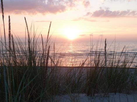 Sonnenuntergang am Weststrand von Fischland-Darss-Zingst